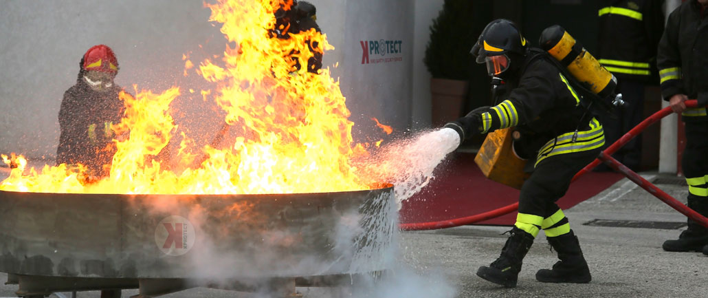 Fire Training KPROTECT | Fire, Safety and Security services in Lebanon